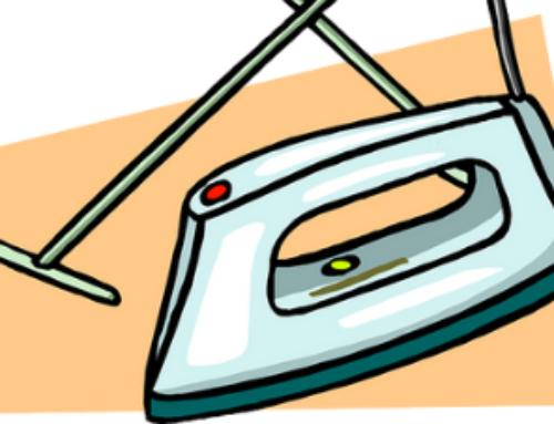 רשימת ציוד למכבסה